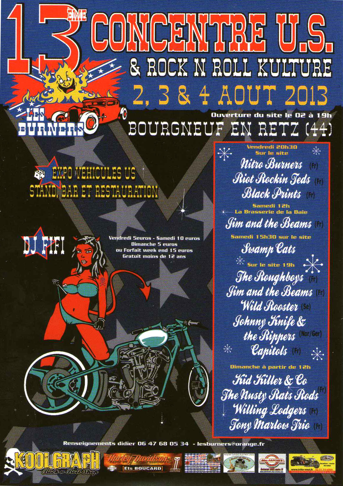 Burners - festival rockabilly à Bourgneuf en retz
